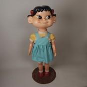 首振りペコちゃん人形