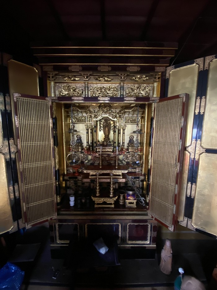 出張見積 古い仏像や仏具、仏壇を買取